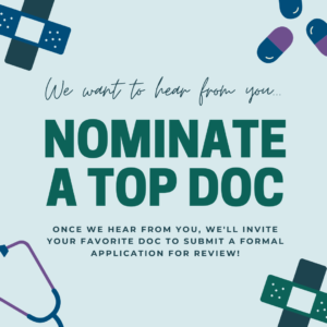 Nominate a Washington Top Doctor